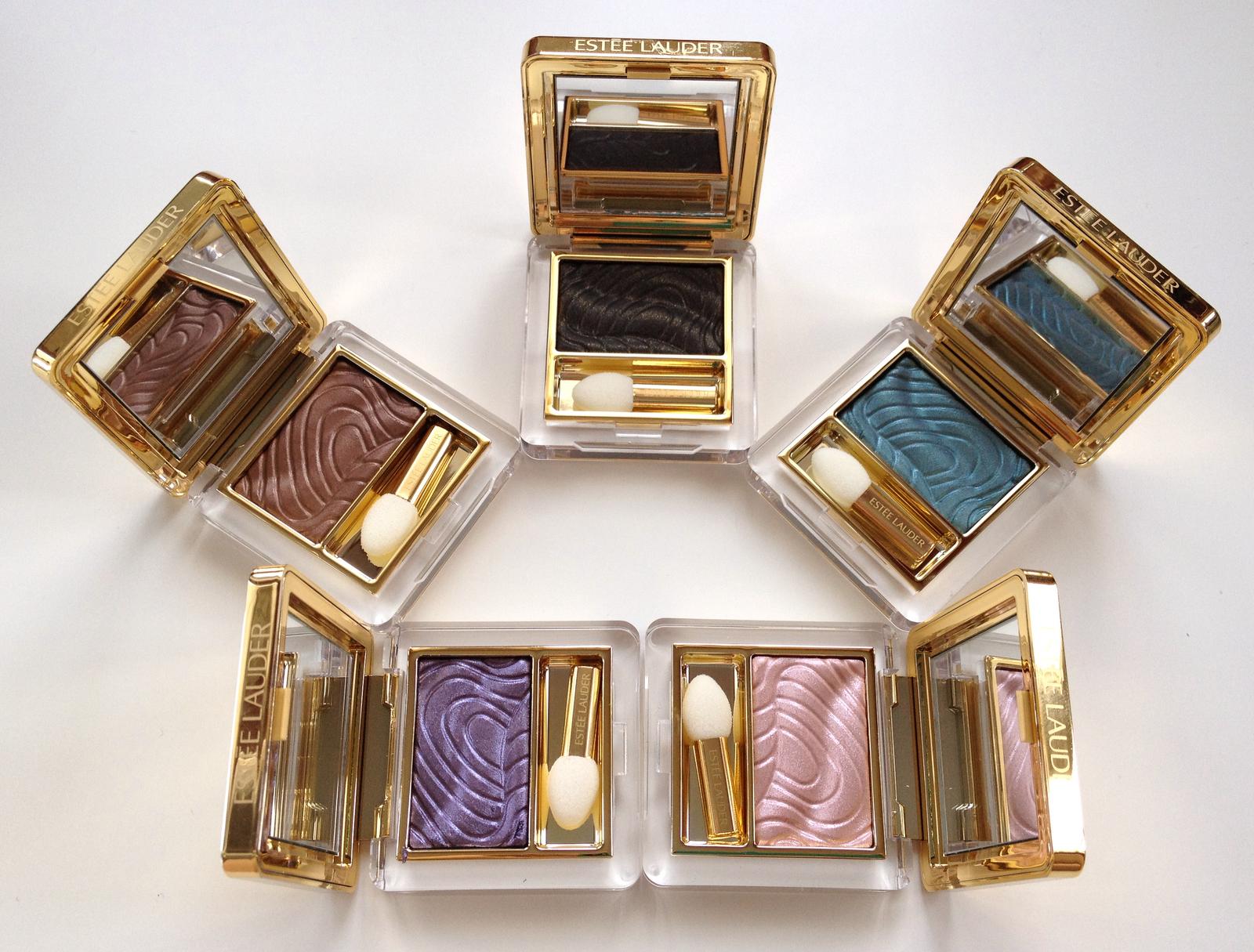 Metallisk øyesminke. Pure Color Gelée Powder EyeShadow fra Estee Lauder. Pure Color Gelée Powder EyeShadow fra Estee Lauder.