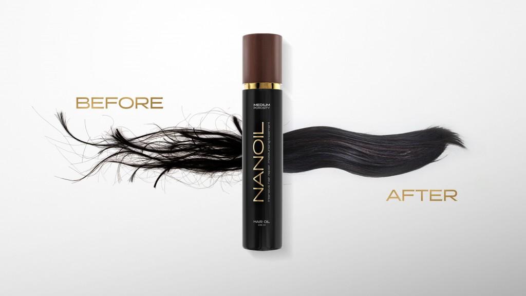 den beste naturlig hårolje Nanoil