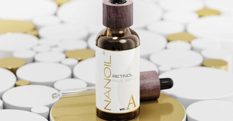 det beste retinolansiktsserumet Nanoil
